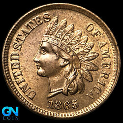 1865 Indian Head Cent Penny -- Make Us An Offer K8867