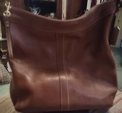 COACH Legacy Camel Brown Leather Hobo Purse 9325 $45.00