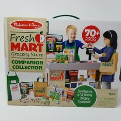 Melissa And Doug Fresh Mart 70 Piece Grocery Store Companion Collection