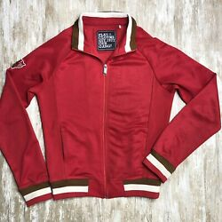 Play Cloths Our Gang - Mens M - Red Tiger Track Jacket - Letterman Varsity