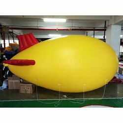 8m 26ft Giant Inflatable Helium Flying Balloon Advertising Blimp Airplain A
