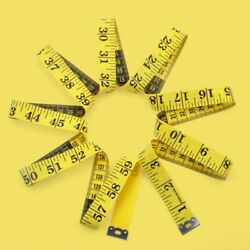 1.5m Sewing Tailor Tape Measure Fabric Measuring Tapes Ruler Flat For Dressmaker