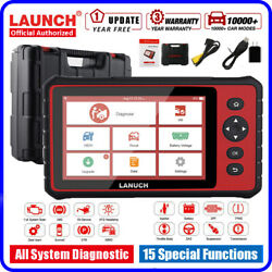 Launch Crp909 Obd2 Scanner All System Abs Dpf Code Reader Diagnostic Tool Laptop
