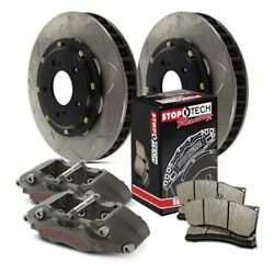 For Bmw M3 95-99 Stoptech Competition Pillar Bi-slotted 2-piece Front Brake Kit