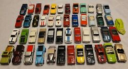48 Johnny Lightning Diecast Classic Cars With Case Mustang Camaro Gto 442 Dodge