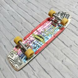 Vintage 80s Sims Pierre Andre Freestyle Skateboard Complete Skate Vision Wheels