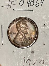 1929 S Lincoln Wheat Cent Penny