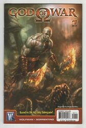 God Of War 1 Andy Park Cover 2010