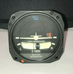 Electric Gyro Corp Turn And Slip Indicator Model 1394t100-5y