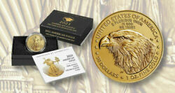 American Eagle 2021 W One Ounce Gold Uncirculated Coin 21ehn Pre-sale