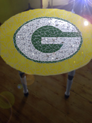 Green Bay Packers Tile Table