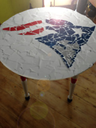 New England Patriots Tile Table