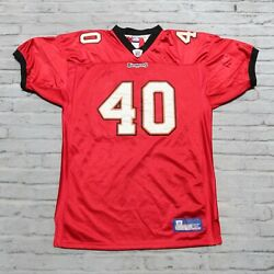 Vintage Tampa Bay Buccaneers Mike Alstott Football Jersey Authentic Pro Cut Sewn