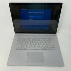 Microsoft Surface Book 3 15 2020 1.3ghz I7-1065g7 16gb 256gb Ssd - Excellent
