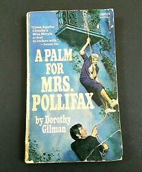 A Palm for Mrs. Pollifax by Dorothy Gilman 1973 Vintage 1st Edition Paperback