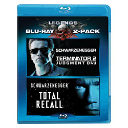 Lions Gate Home Ent Br29272 Terminator 2/total Recall 2pk Dvd