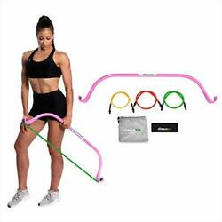 Lite Gorilla Bow Portable Home Gym Resistance Bands And Bar System For Travel...