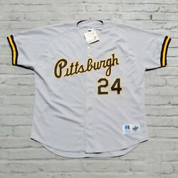Vintage Deadstock Pittsburgh Pirates Barry Bonds Baseball Jersey Authentic Sewn