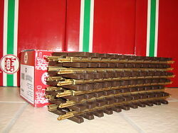 Lgb 1100 11000 Radius 1 Brass Curved Track Case 12 Pieces New In Box Christmas