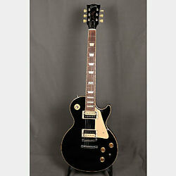 Gibson Les Paul Classic 120th Anniversary Ebony Electric Guitar With Case