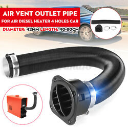 42mm Air Duct Pipe W/ Warm Air Outlet Clamp For Webasto Domestic Diesel Heater