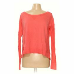 American Eagle Outfitters Women's Sweater Size M, Orange, Pink, Cotton