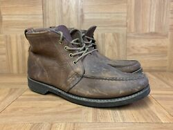 Vntg🔥 Gokey Company Orvis Menand039s Boots Leather Hunting Chukka Hiking Ankle 12 Aa