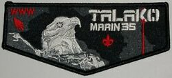 Talako County Lodge 533 Oa Marin County Council 35 Ca 2020 Delegate Flap Patch