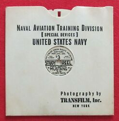 Wwii Usn View-master P-51 Mustang Spotter Id Recognition S3 Study Reel Buaero
