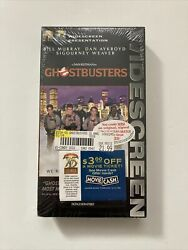 Rare Ghostbusters 15th Anniversary Widescreen Vhs Tape Bill Murray New