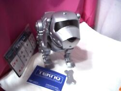 Vintage Tekno Silver The Robotic Puppy With Accessories 14600