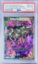 2020 Uni Onslaught Pop 1 Italian Cell Xeno Unspeakable Abomination Scr - Psa 10