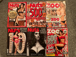 Mens Magazine Bundle. 6 X Magazines All In Good Condition. Various Issues.