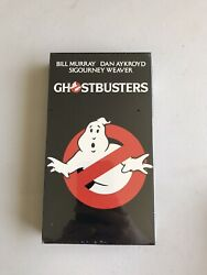 Ghostbusters Vhs Sealed Brand New Rare Studio Stamping Colombia Pictures