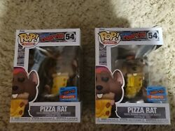 Funko Pop Icons 54 Pizza Rat - 1 Of Only 2500 - Nycc 2021 - New York Comic Con