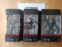 Star Wars Black Series The Bad Batch Tech, Wrecker And Crosshair 6 Inch In Hand