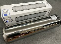 New Jsc/spr Chimney Systems 8 X 36 Double Wall Metal Stove Pipe Jsc8sa3 Nib