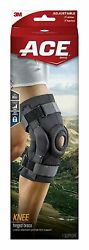 Ace Hinged Knee Support Brace Lateral Stabilizer Adjustable Size Left And Right