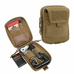 Molle Admin Pouch Military Utility Tool Pouch Edc Molle Pouchs Coyote Brown