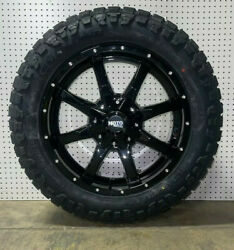 20x9 Moto Metal Mo970 Black Wheels 32 Rt At Tires 6x135 Ford F150 Expedition