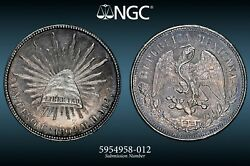 1904 Cn Mh Mexico Silver Peso Ngc Ms61 5954958-012 - Beautiful Mint State Coin