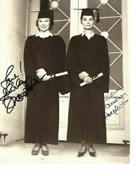 Signed Photo Of Audrey Hepburn And Shirley Mclaine For The Children's Hour