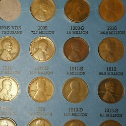 Lincoln Wheat Penny Collection 1909-1940its Got All But The 1909s Vdb...nice...