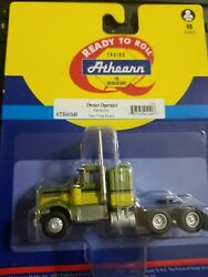 Athearn Ho 1/87 Kw Kenworth Owner-operator Truck Two-tone Green Ath41049