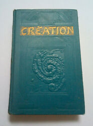 Creation Watchtower French Booklet Rutherford Jf Jehovah Ibsa Bible Students