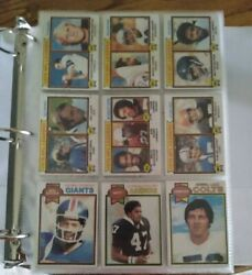 1979 Topps Football Complete Set 528 Cards Campbell Rc Dungy Rc