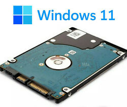 120 Gb Hdd Windows 11 Hard Drive For Older/unsupported Computers Diy. Read