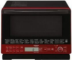 Hitachi Oven Range Healthy Chef 31l Mro-s8y R Red 250anddegc Single-stage Wide Oven