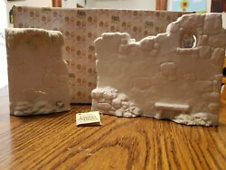EUC Vintage Precious Moments Two Section Wall for Nativity E 5644 With Box