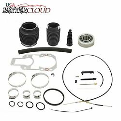 Shift Cable+u-joints Bellow Transom Repair Kit For Mercruiser Alpha 1 One Gen 2